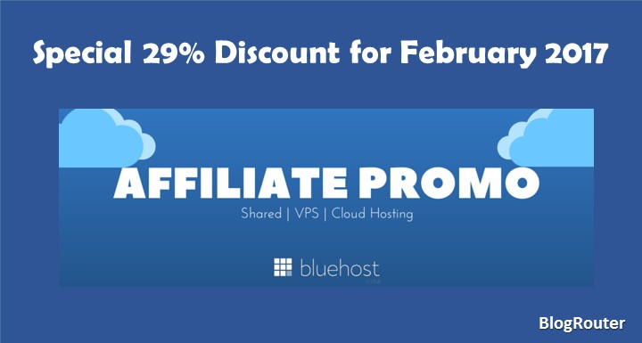 Bluehost February Hosting Coupon Code