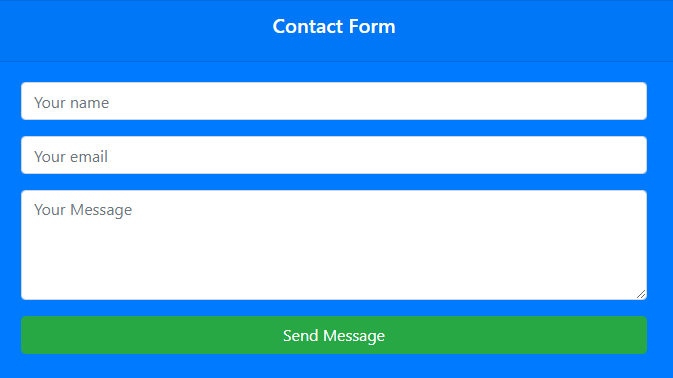 simple-contact-form-bootstrap-php