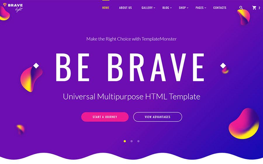 Universal Multipurpose HTML Template